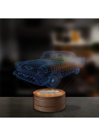 Artikel Chevrolet 3D LED Gece Lambası Renkli